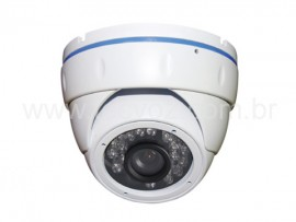DMHS Câmera Dome Infra Red Digital 700TVL 1/3 0.0 Lux 25 MTS - 6.0 mm - ICR - IP66 (24 Leds) Tecvoz